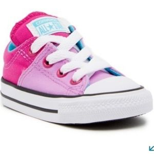Converse Pink Purple Madison Oxford Sneakers 9